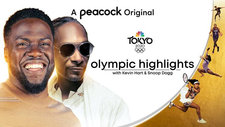 Snoop Dogg and Kevin Hart to Break Down Daily Action in 'Olympic Highlights' Series