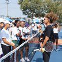 Naomi Osaka and BODYARMOR LYTE Unveil Refurbished Tennis Courts