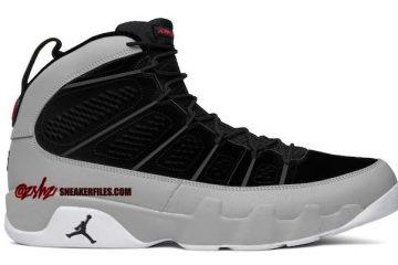 Air Jordan 9 Particle Grey
