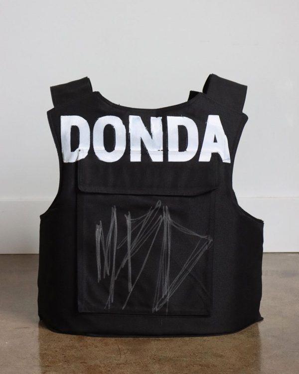 Donda Vest back