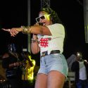 Ashanti Takes The Stage At Annual Dope BBQ In Brooklyn