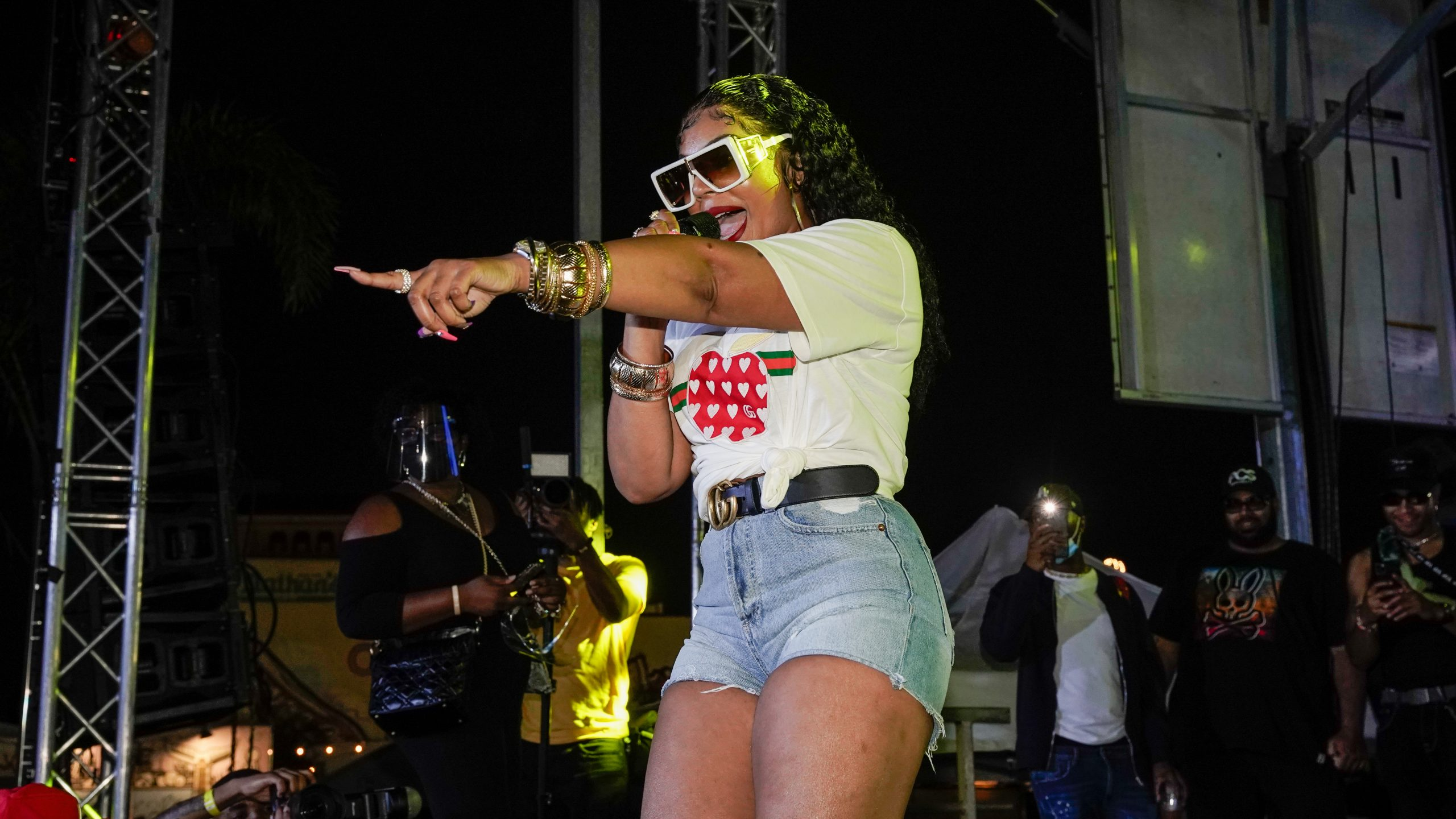 The source |  Ashanti takes the stage at the Double Up in Brooklyn
