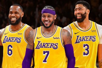 Carmelo Anthony Signs a One Year Deal With The Lakers