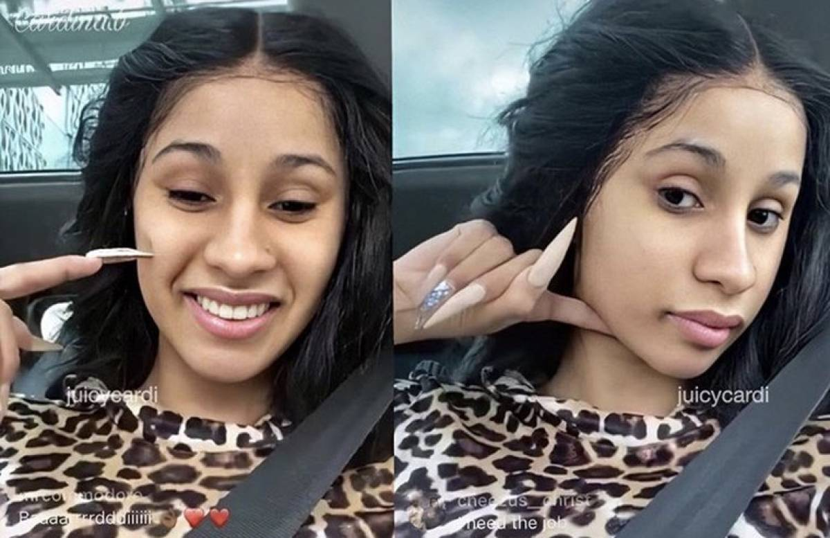 The Source |Cardi B Reveals Her Drugstore Toiletries All  And Under
