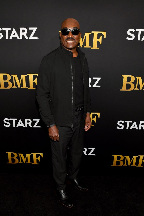 Clifton Powell BMF Red Caret