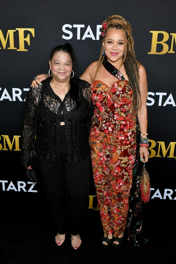 Lucille Flenory and Michole Briana White BMF Red Carpet
