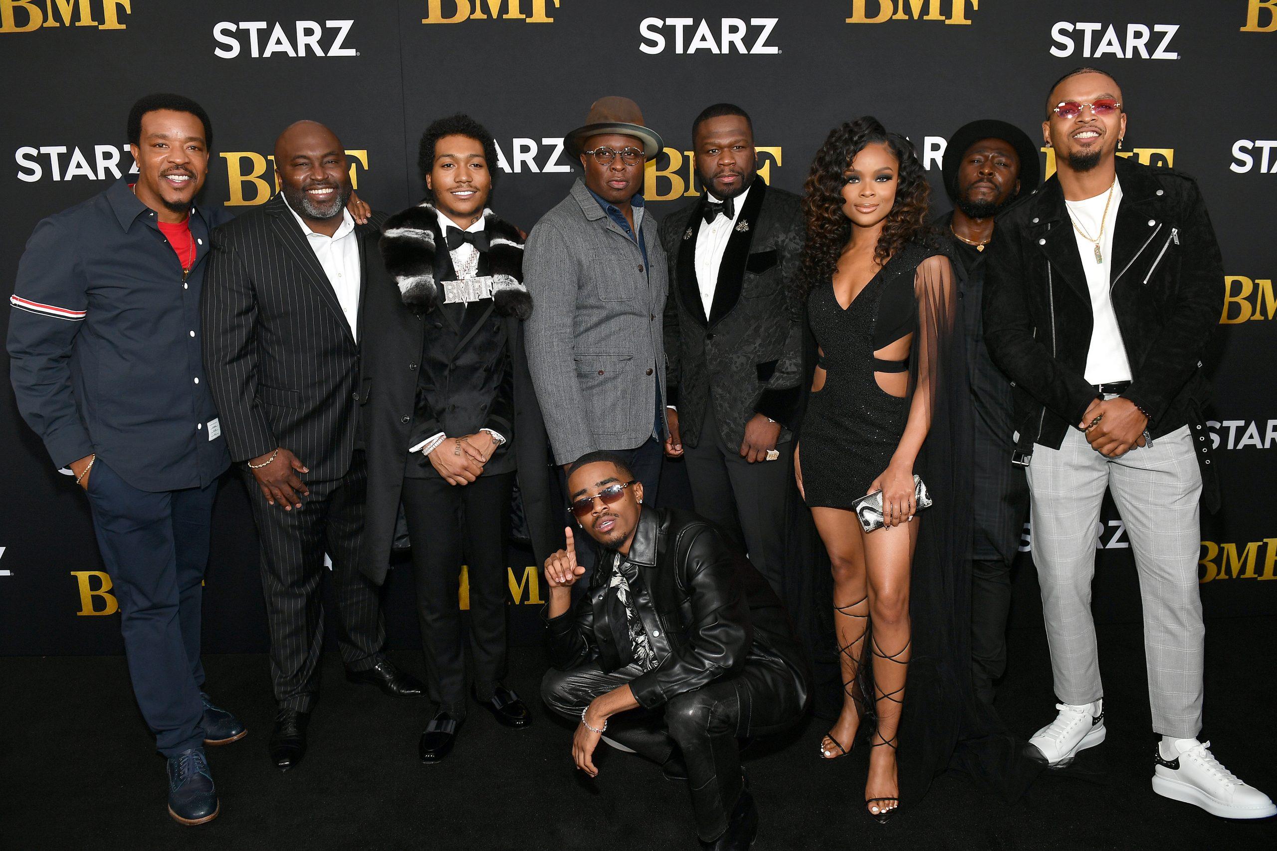 [PHOTOS] 50 Cent, Kash Doll, Kandi Burress, Jacob Latimore and More Celebs Walk The 'BMF' Premiere Red Carpet