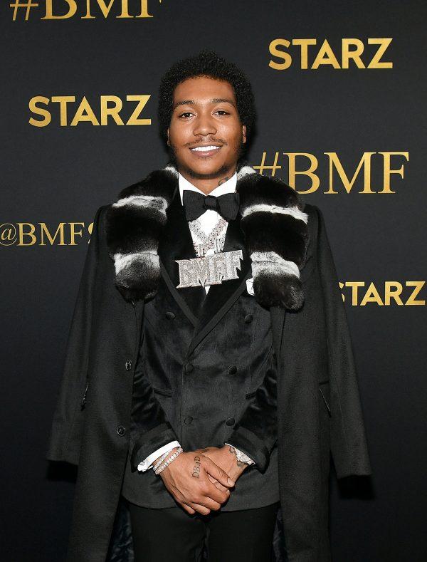 Demetrius Flenory Jr. BMF Red Carpet