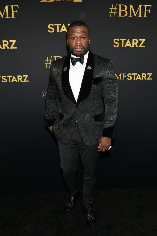 "Curtis ""50 Cent"" Jackson BMF Red Carpet"