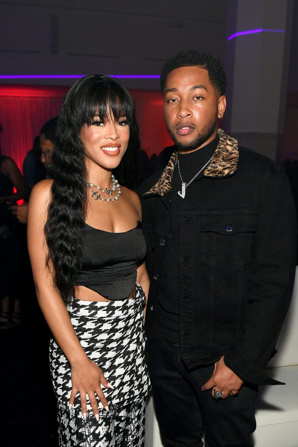 Serayah McNeill and Jacob Latimore BMF guest