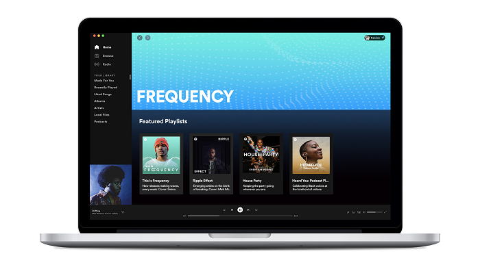 Spotify's Sydney Lopes Says 'Frequency' Program is a Support of Black Expression