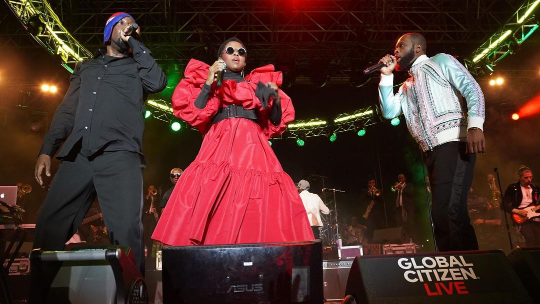 Fugees Unite on Stage at the Roof at Pier 17 in New York City