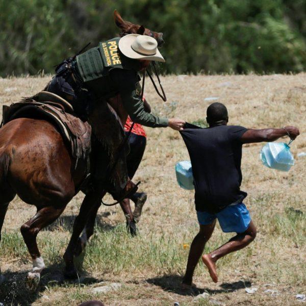 Governor Greg Abbot Haitians Seek Asylum Rio Grande River Texas