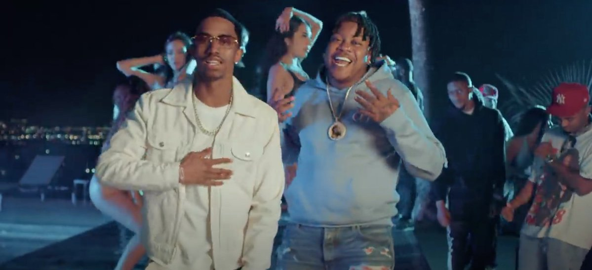 """Bino Rideaux & King Combs Mesmerize Over Their Woman in """"NO MAKEUP"""""""