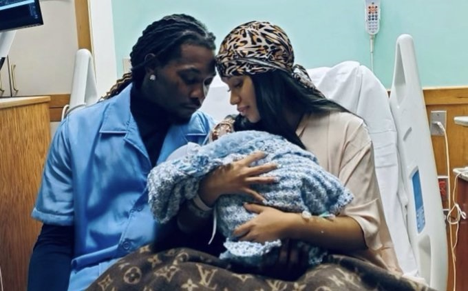 Cardi B and Offset Welcome New Baby Boy