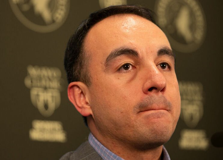 SOURCE SPORTS: Minnesota Timberwolves Fires GM Gersson Rosas Days Before Training Camp Opens