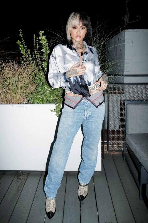 Kehlani at Diesels SS22 Womens Runway Capsule collection