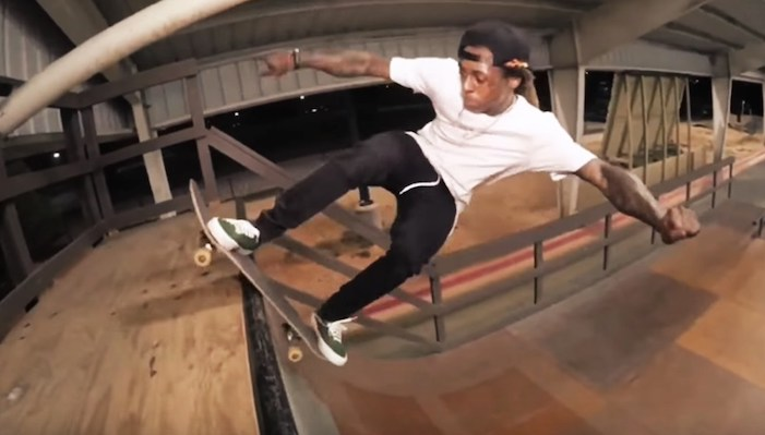 Lil Wayne Shows of Skateboarding Skills on IG - The Source Magazine