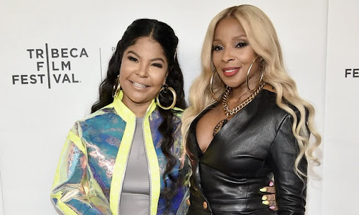 Mary J. Blige Gives Long Time Stylist Misa Hylton Her Flowers at NYFW Event