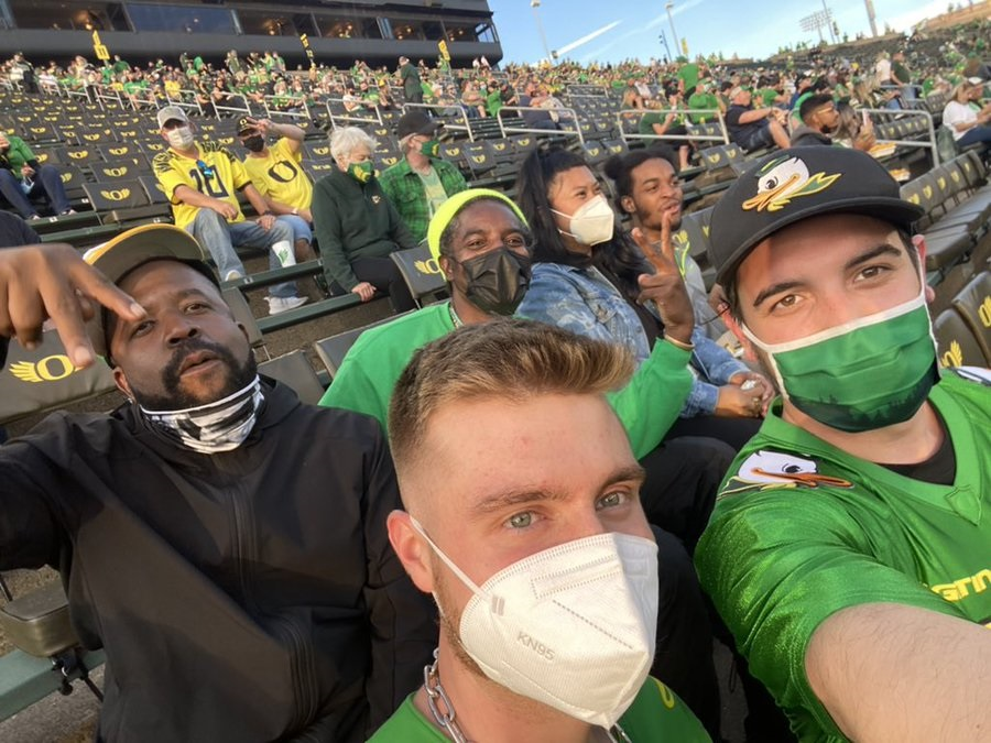 Big Boi and André 3000 Spotting at Oregon Ducks Game Prompts Reunion Talk