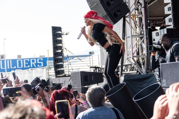 Saweetie iHeart Day Stage Festival (Dan Garcia Photography)