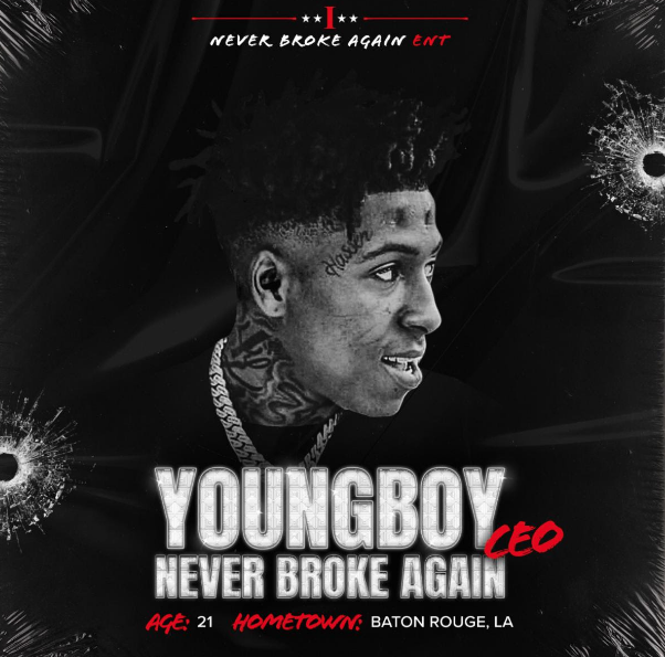 NBA Youngboy And Motown Announce Never Broke Again LLC Global Joint Venture