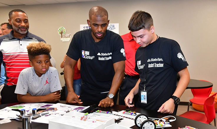 NBA and State Farm Announce Seven Schools and After-School Programs as 2020-21 Assist Tracker Recipients