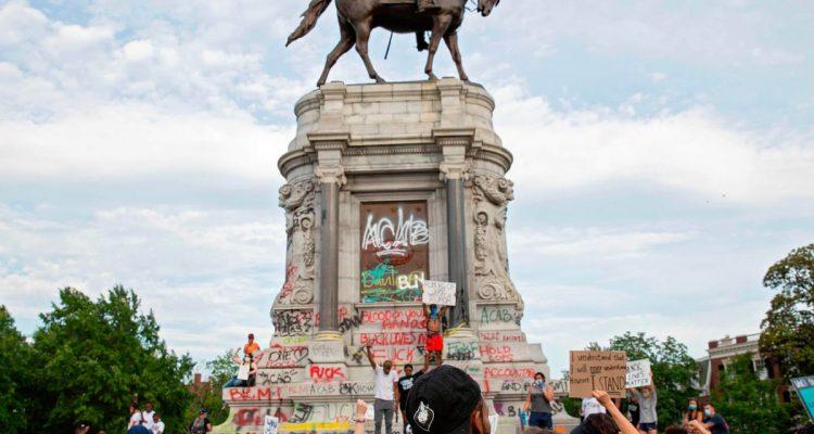 confederate statue removed