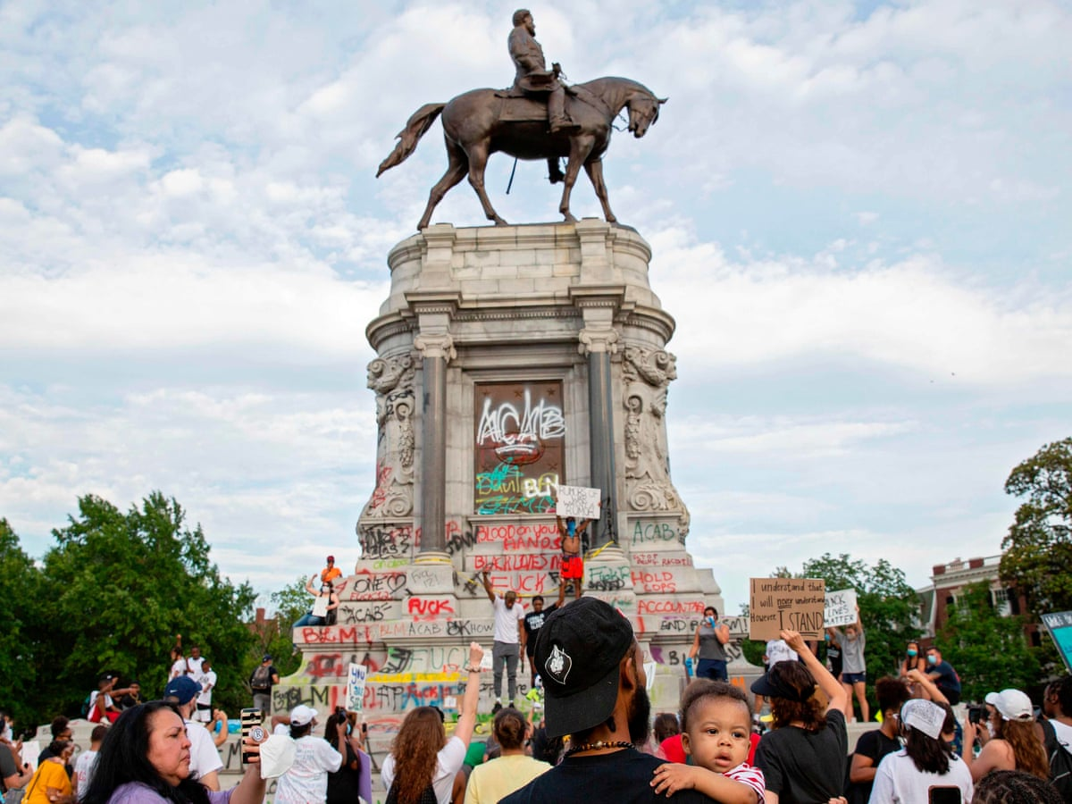 The Nation's Largest Confederate Statue Is Coming Down This Week