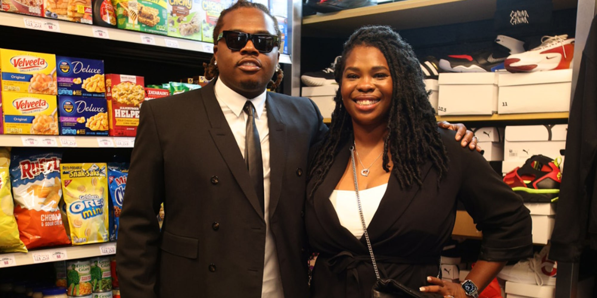 Gunna Gives Back To Former Middle School Partners With Goodr To Open Free Grocery and Clothing Store