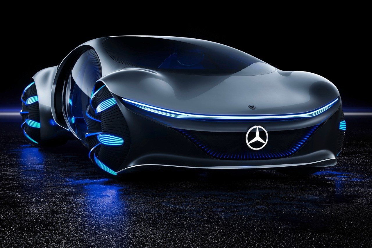 Mercedes-Benz Unveils Thought-Controlled Concept Vehicle