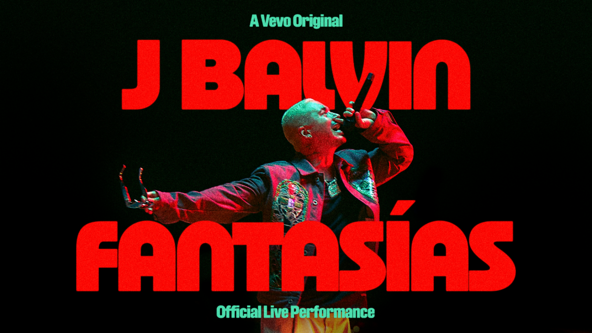 """[WATCH] J Balvin and VEVEO releases """"Fantasías"""" Official Live Performance"""