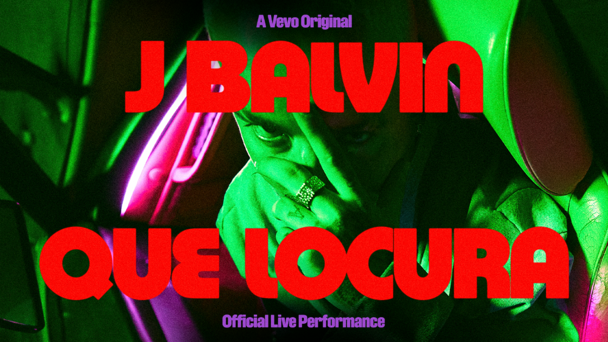 """SOURCE LATINO: J Balvin and Vevo Drop """"Que Locura"""" Official Live Performance Video"""