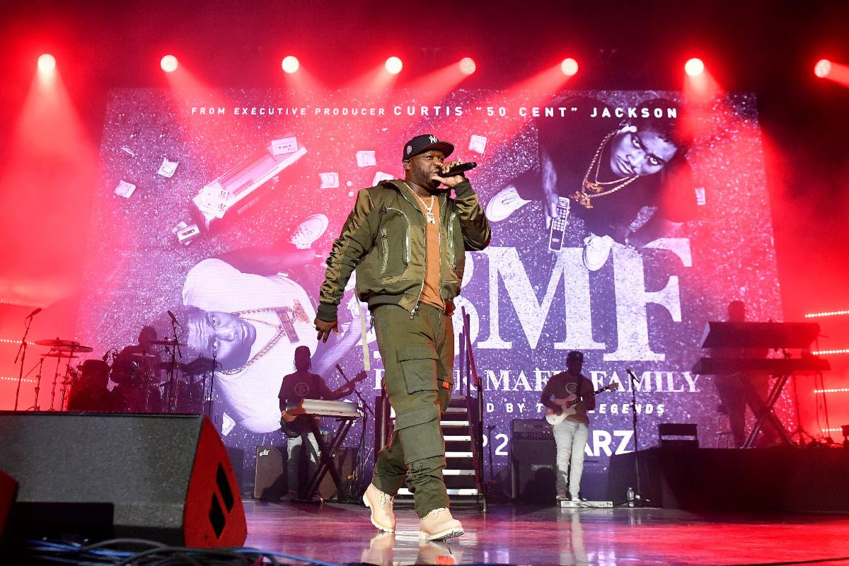 50 Cent, Moneybagg Yo & Snoop Dogg Perform Wish Me Luck at The BMF Premiere Atlanta