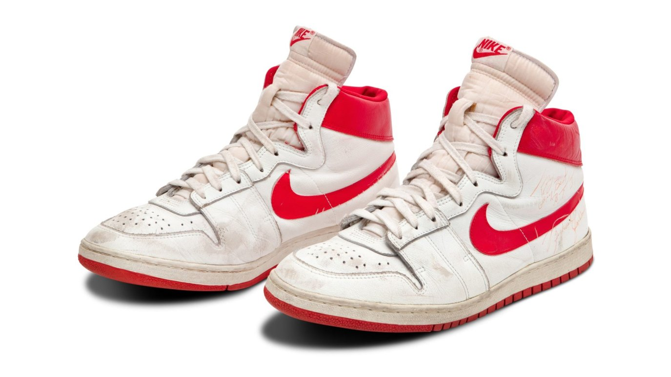 Pair of Nikes Worn by Michael Jordan During Rookie Season Sell for Over $1M