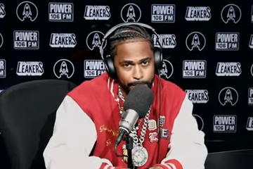 Big Sean Goes Off with 9 Minutes of Bars During L.A. Leakers Visit
