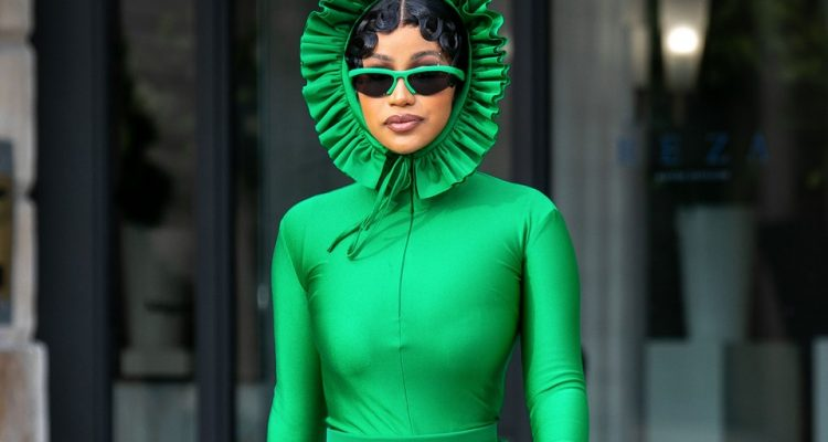 Cardi B Fashion Week Paris