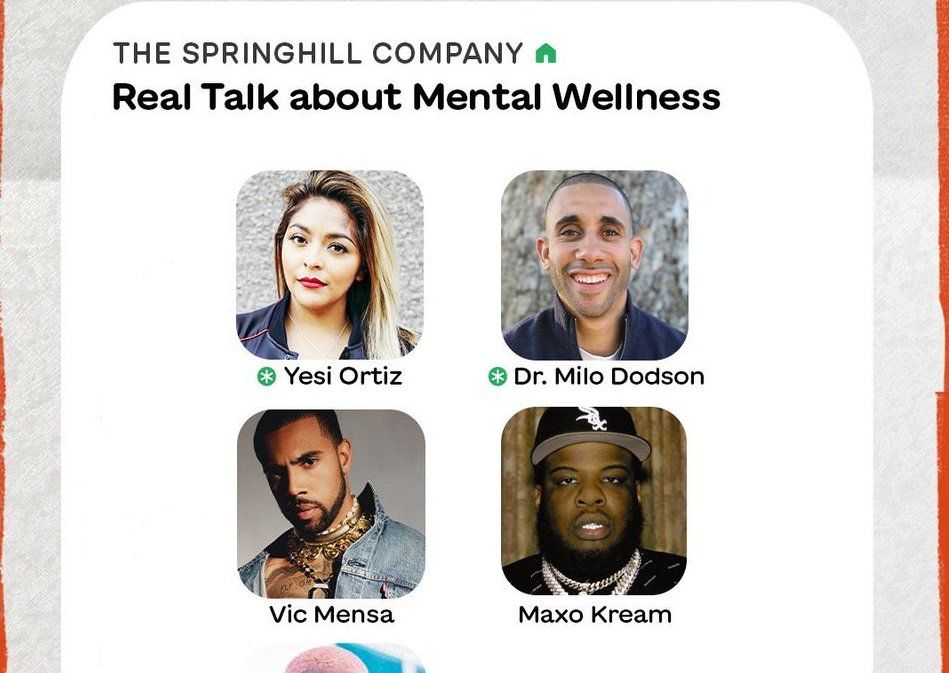Maxo Kream, Vic Mensa & Tiara Thomas on Join SpringHill Co. For Mental Health Clubhouse Convo
