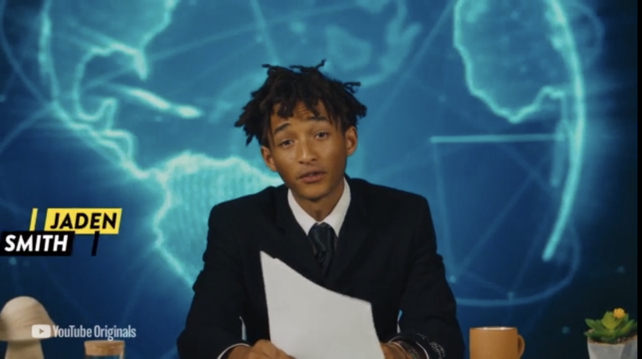 Jaden Smith Reports Climate Crisis Nightly In Exclusive 'Dear Earth' Clip