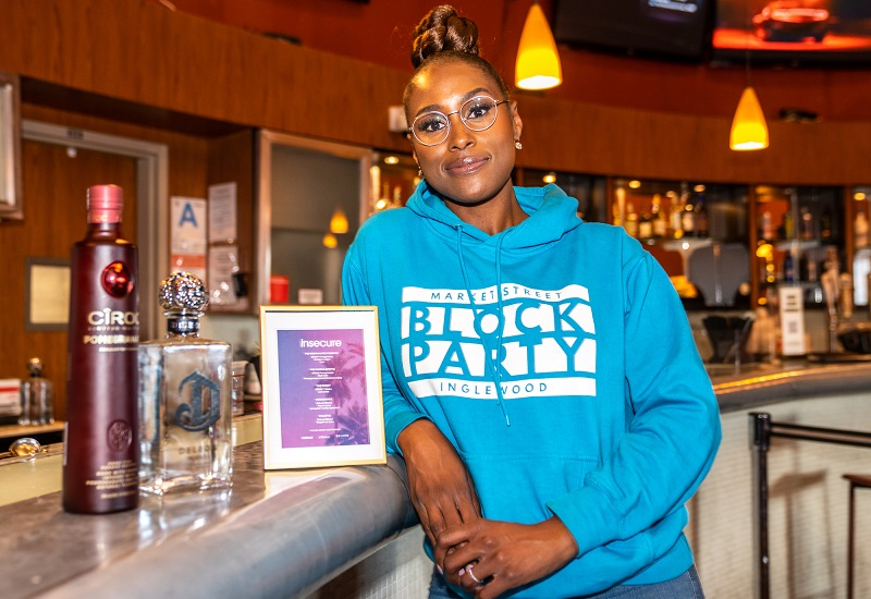 Issa Rae Joined by CÎROC and DeLeon to Celebrate her Series Finale with LA Watch Parties