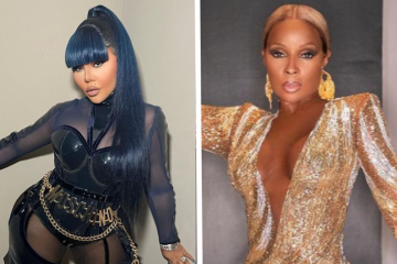 Lil Kim and Mary J Blige