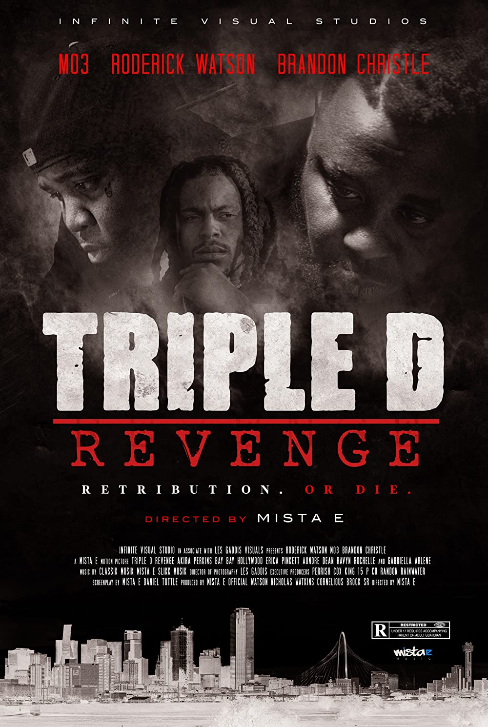 Watch The Trailer For Late-Mo3 Film 'Triple D Revenge' Out Thursday