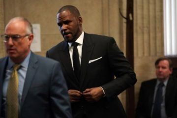 R. Kelly in Court federal child pornography