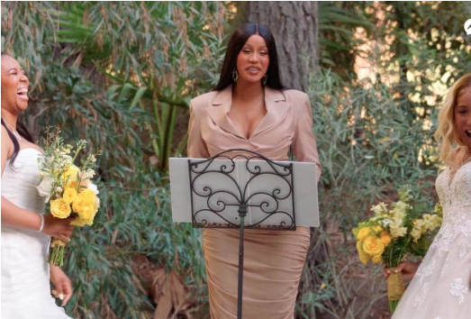 [WATCH] Cardi B And Raven Symone Officiate Same-Sex Couple's Wedding