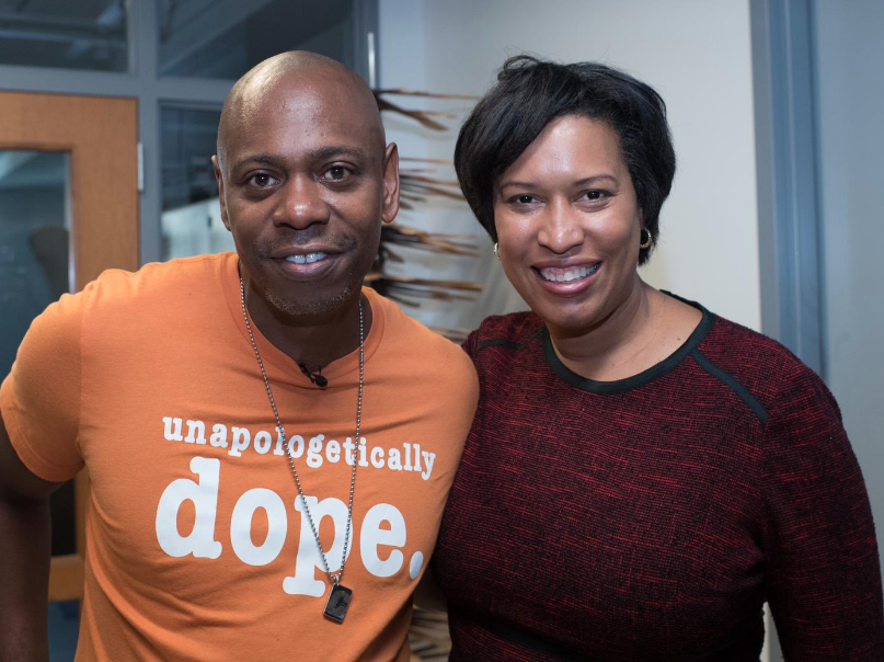 [WATCH] D.C. Mayor Muriel Bowser Defends Dave Chappelle In Transgender Controversy