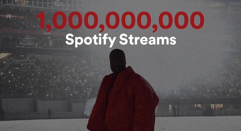 Kanye West's 'DONDA' Album Passes 1 Billion Streams on Spotify