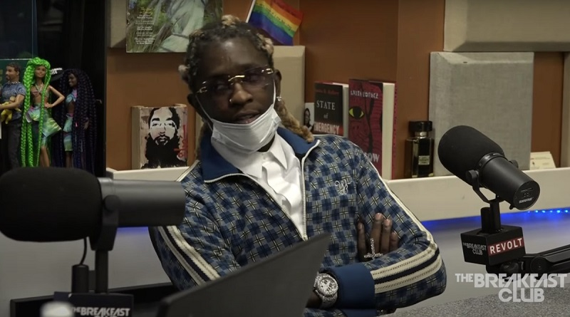 Young Thug Explains Why He Paid Lil Baby to Stay Off the Streets
